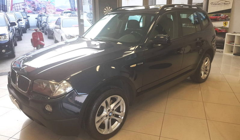 BMW X3 2.0 D FUTURA 177CV TETTO/NAVI – 2007 full